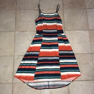 NATURAL REFLECTIONS Striped Dress